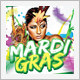 Carnival and Mardi Gras Flyer - GraphicRiver Item for Sale
