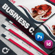 Saloon Business Card Face Timeline - GraphicRiver Item for Sale