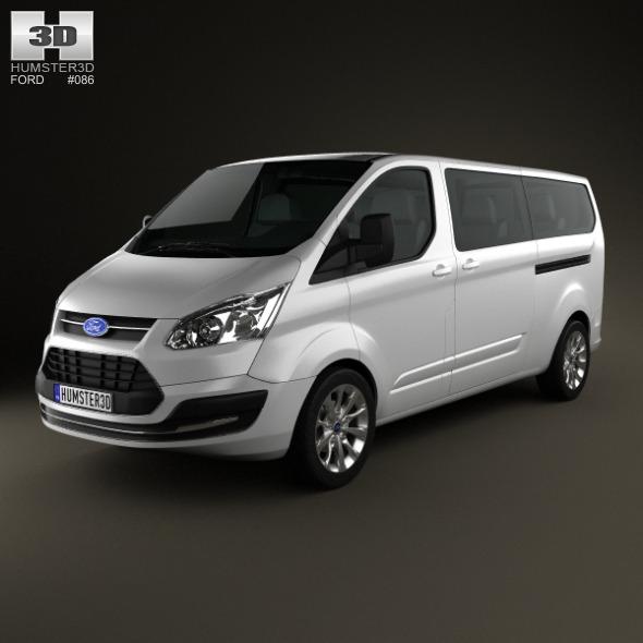 Ford Tourneo Custom LWB 2013 - 3DOcean Item for Sale