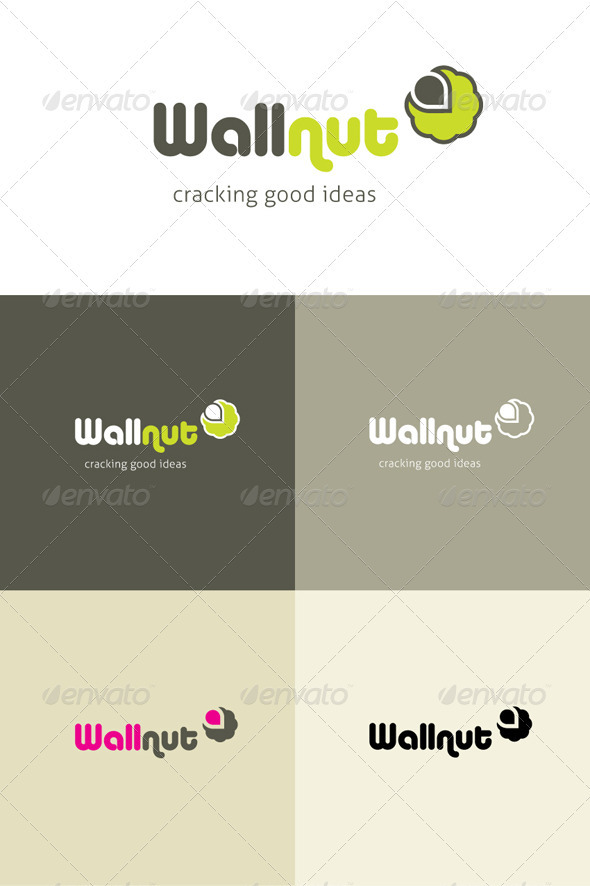 Wallnut | A cracking little creative logo! - Logo Templates
