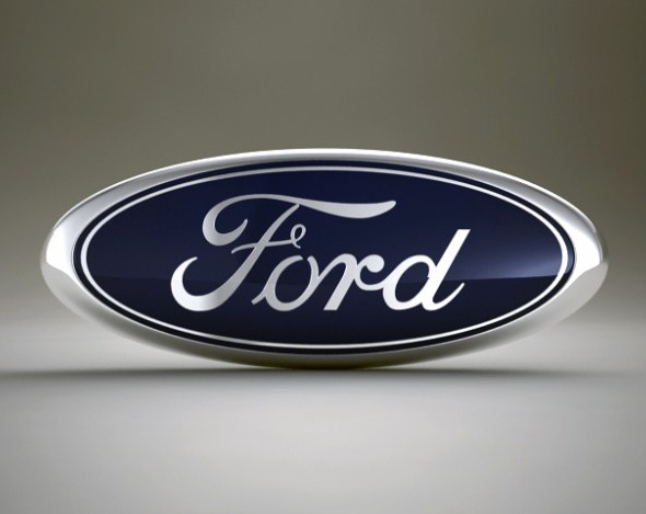 Ford Logo - 3DOcean Item for Sale