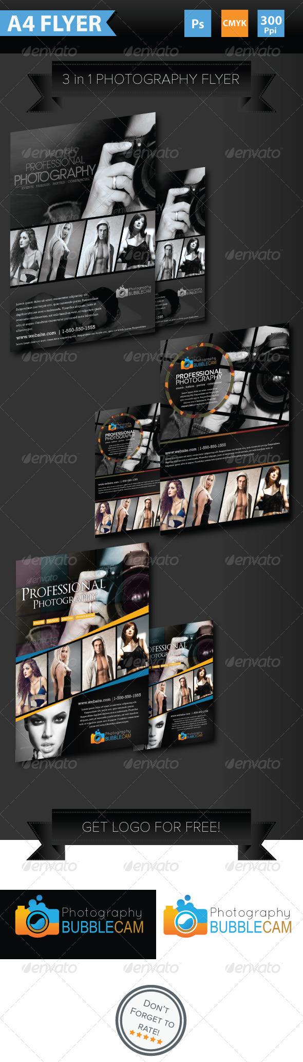 Minimalist Photography Flyer - Corporate Flyers