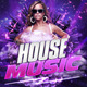 House Music Flyer | Poster  - GraphicRiver Item for Sale
