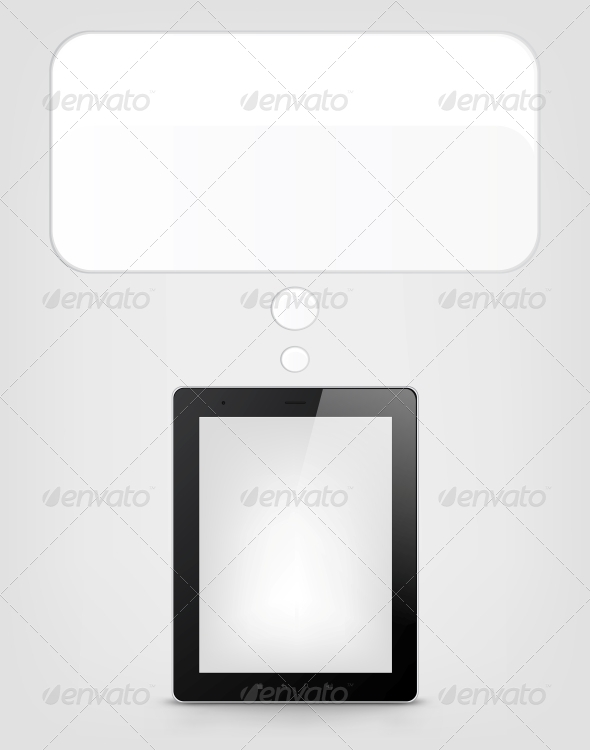 Digital Tablet Concept - Computers Technology