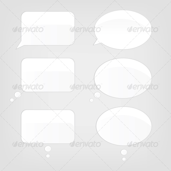 Speech Bubbles - Computers Technology