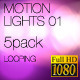 Motion Lights 02 - 5pk - VideoHive Item for Sale