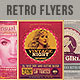 Retro Party Flyers Bundle - GraphicRiver Item for Sale