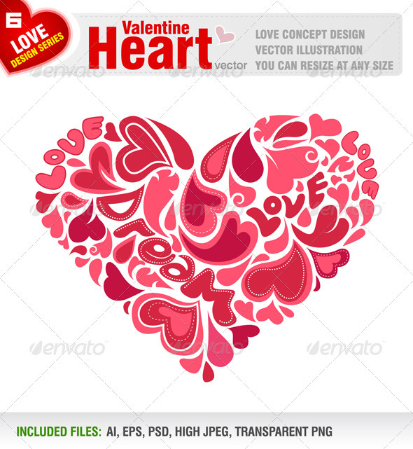 Valentine Heart - Valentines Seasons/Holidays