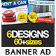 6 Web Banner Ads Bundle 1.0 - GraphicRiver Item for Sale