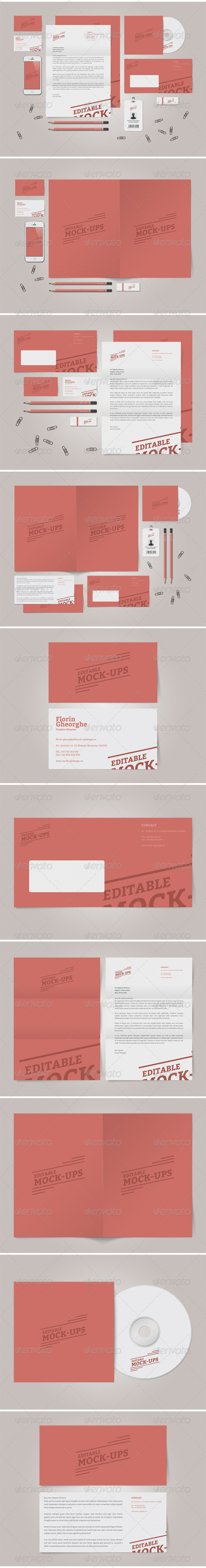 Simple Stationery Mock-Up - Stationery Print