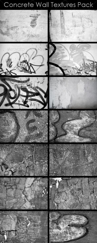 Concrete Wall Textures Pack - Concrete Textures