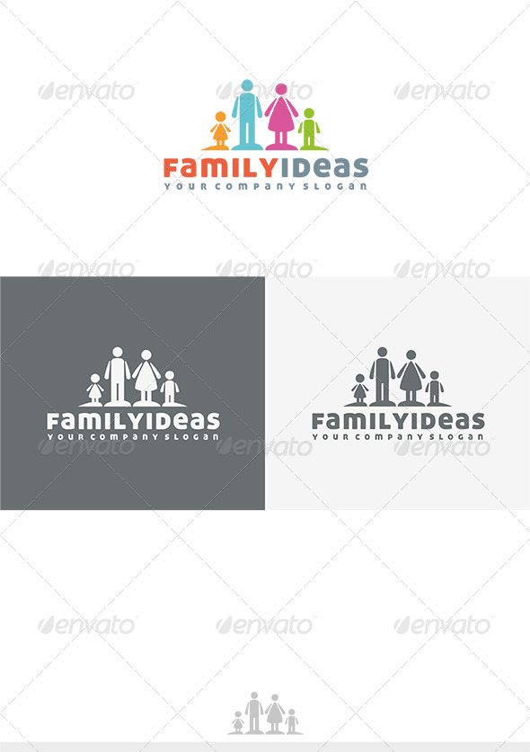 Family Ideas Logo - Humans Logo Templates
