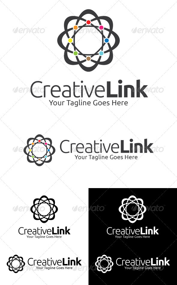 Creative Link - Abstract Logo Templates