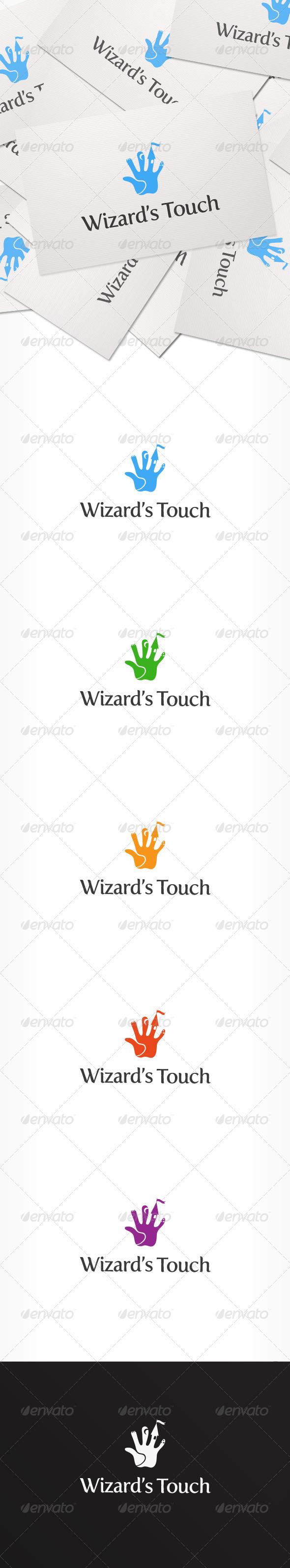 Wizard's Touch Logo - Logo Templates
