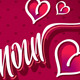 Amour Hand Lettering Vector - GraphicRiver Item for Sale