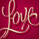 Love Hand Lettering Vector - GraphicRiver Item for Sale