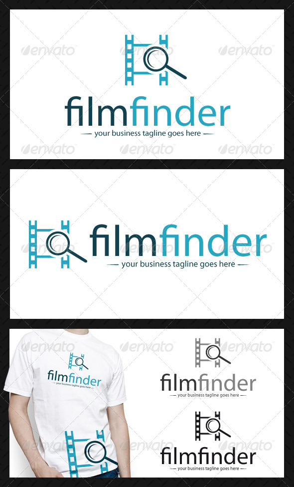 Film Search Logo Template - Objects Logo Templates
