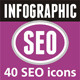 SEO Infographic Elements - Set 08 - GraphicRiver Item for Sale