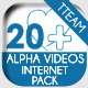 Info Icons 20 Videos Elements - Internet Pack - VideoHive Item for Sale