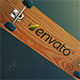 Bullet Time Skateboard with Logo - VideoHive Item for Sale