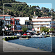 Solar Day In The Seaside Small Town - VideoHive Item for Sale