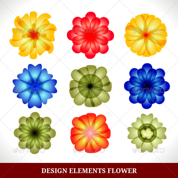 Design Elements - Flowers & Plants Nature