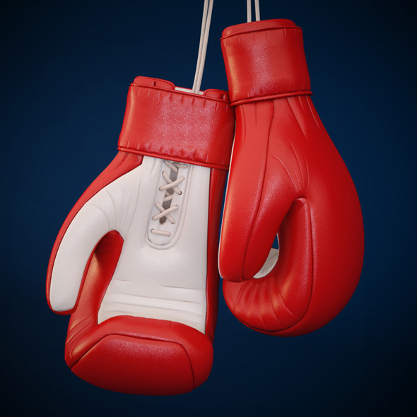 Boxing Glove - 3DOcean Item for Sale