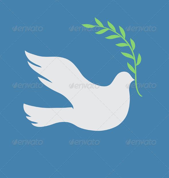 Peace Concept - Conceptual Vectors