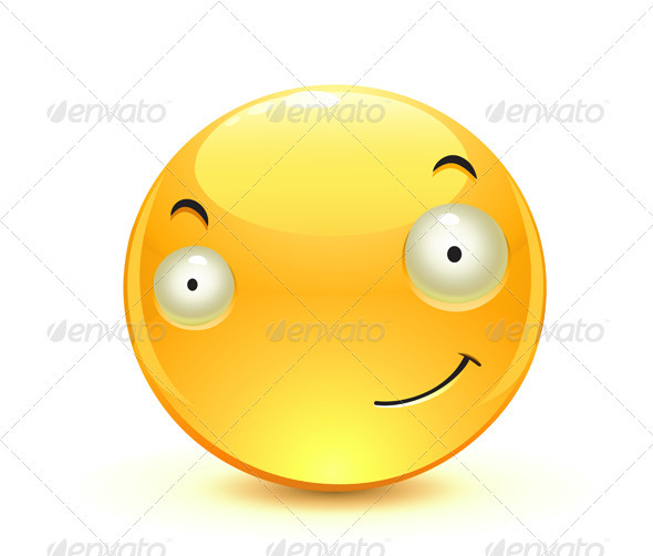 Yellow Emoticon - Characters Vectors