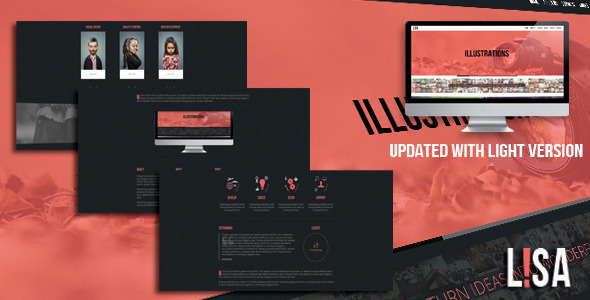 Lisa - Responsive One Page Parallax Template by IG_design