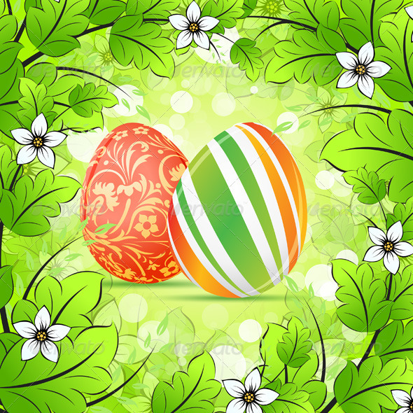 Easter Frame  Background - Seasons/Holidays Conceptual