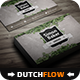 Gardener Business Card - GraphicRiver Item for Sale