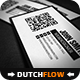 QR Code Minimalistic Business Card - GraphicRiver Item for Sale