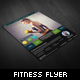 Healthy Fitness Flyer - GraphicRiver Item for Sale