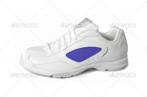 sneakers isolated on a white - Stock Photo - Images
