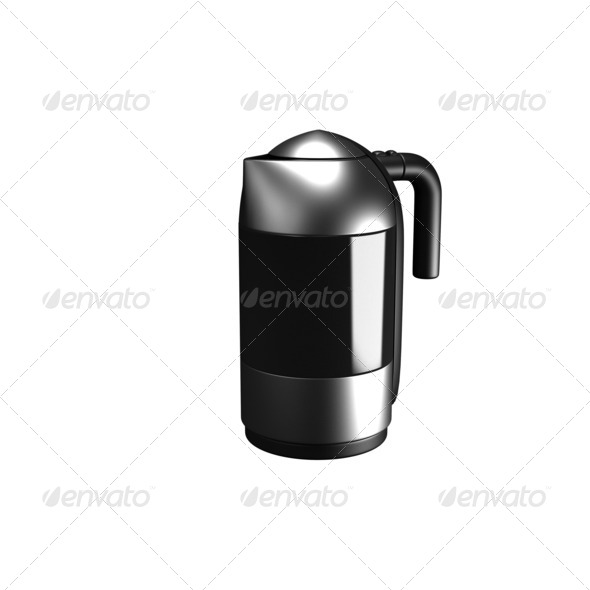 Electric kettle - Stock Photo - Images