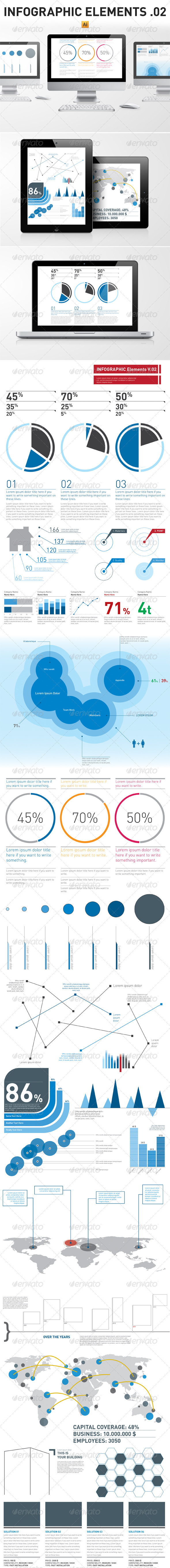Infographic Elements Template Pack 02 - Infographics