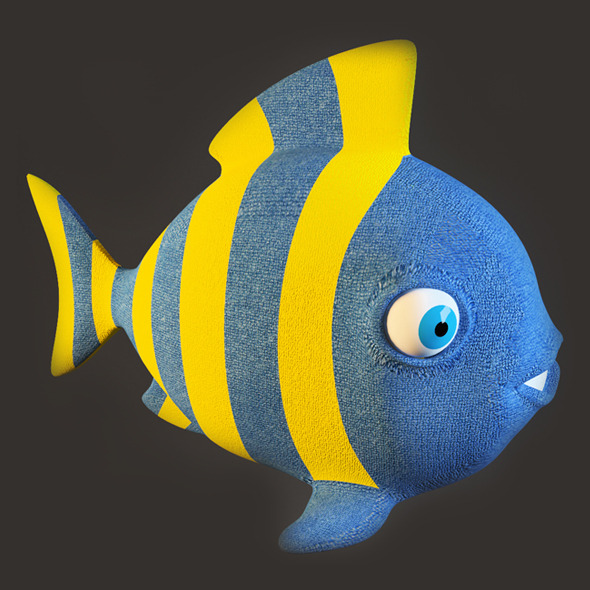 Fish Toy - 3DOcean Item for Sale
