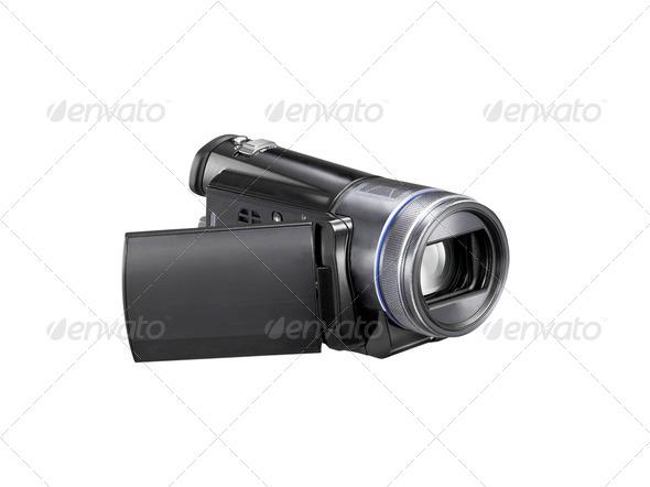Digital Video Camera - Stock Photo - Images