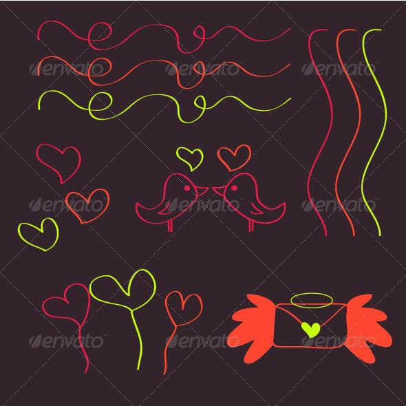 Valentine Set - Valentines Seasons/Holidays
