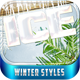Winter Styles - GraphicRiver Item for Sale