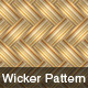 Vector Wicker Pattern - GraphicRiver Item for Sale