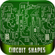 Computer Circuit Shapes - GraphicRiver Item for Sale