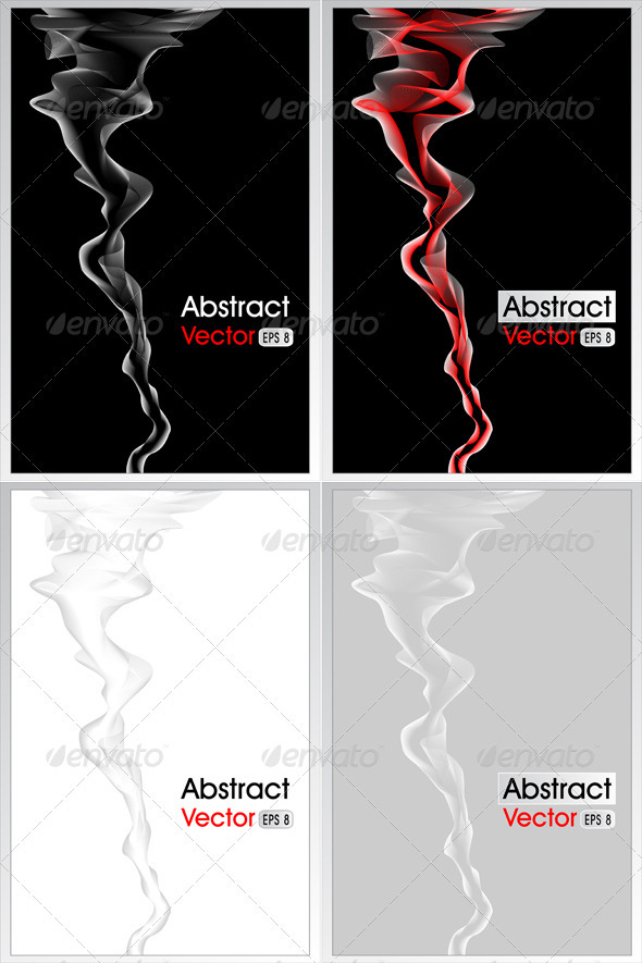 Abstract Background with Smoke  - Abstract Conceptual
