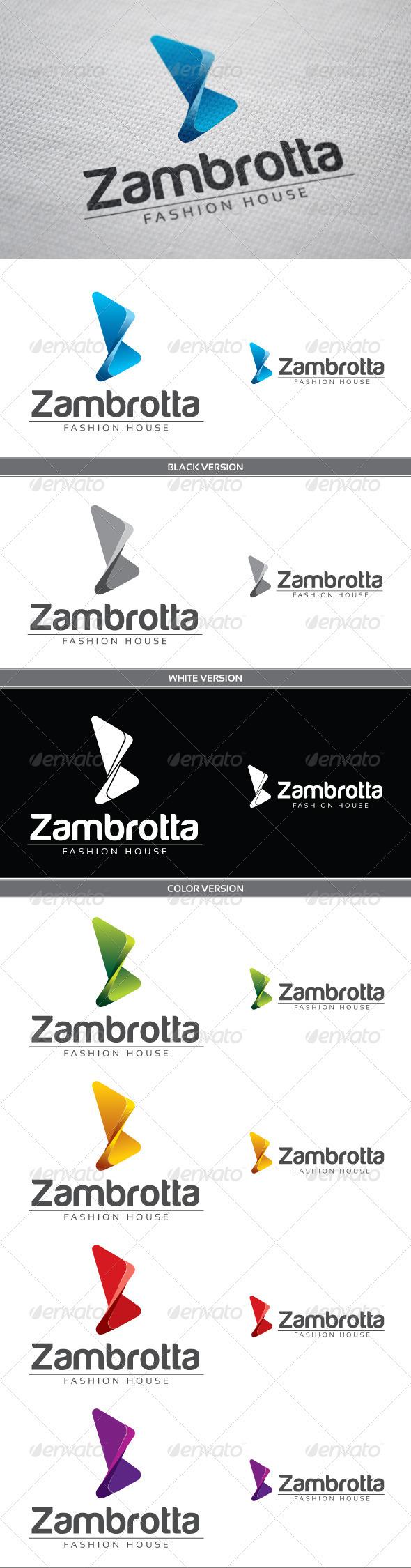Zambrotta - Letters Logo Templates