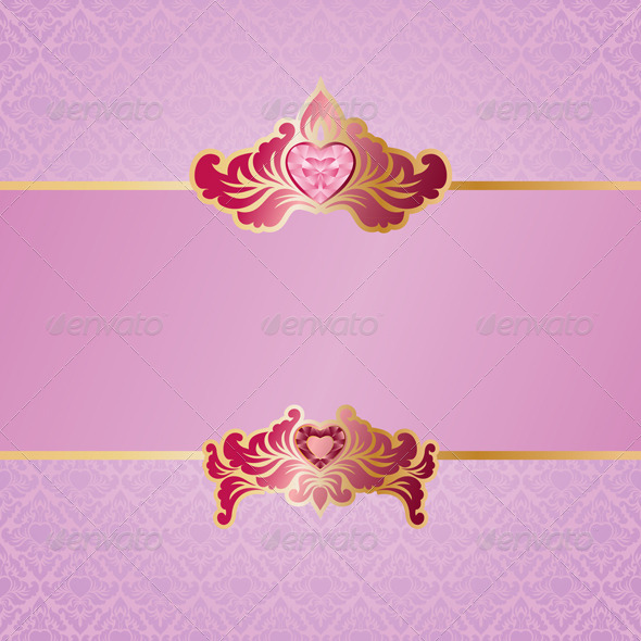 Valentine Ornament Background - Valentines Seasons/Holidays