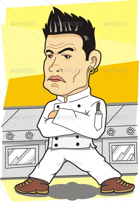Killer Look Chef - People Characters