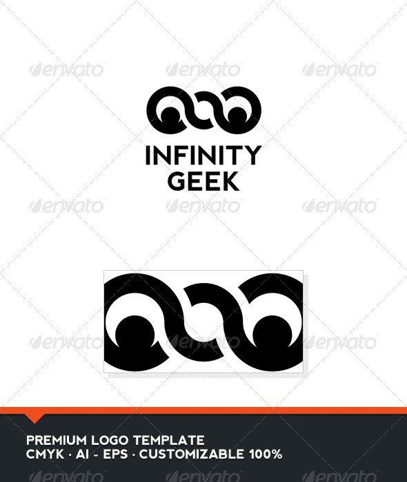 Infinity Geek Logo Template - Humans Logo Templates