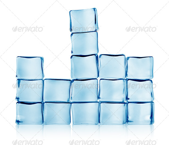 Figures from ice - Stock Photo - Images