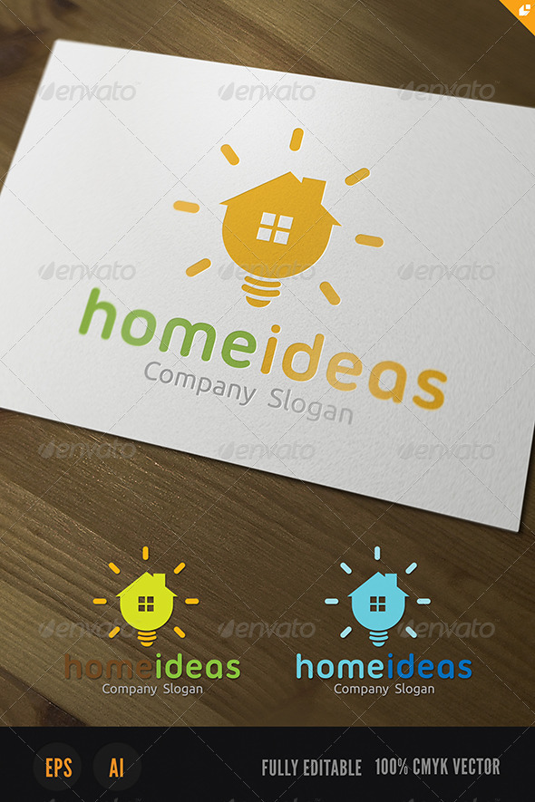Home Ideas Logo - Objects Logo Templates